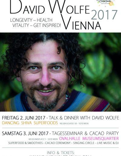 David Wolfe Vienna 2017