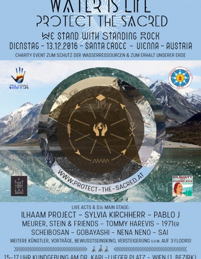 Protect the Sacred - Water is Life Charity Event 2016